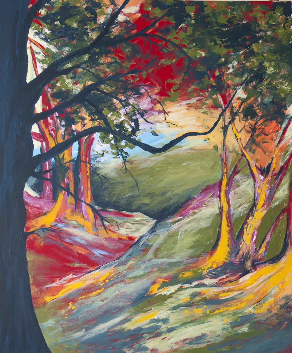 msa,Forest, 2016,acrylic on canvas,1200x1000mm,R5000