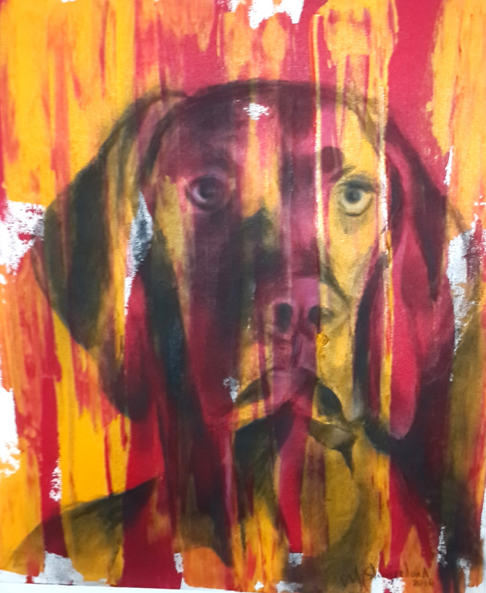 msmm,Francios se kind,2016 acrylic and charcoal on canvas,600x500mm,R2500